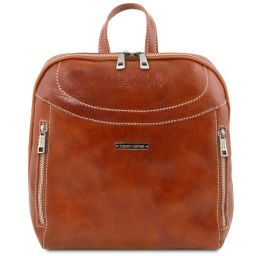 Manila Leather backpack Мед TL141557