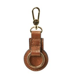 Leather key holder Телесный TL141922