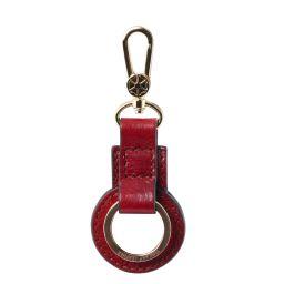 Portachiavi in pelle Rosso TL141923