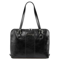 Ravenna Esclusiva borsa business per donna Nero TL141795