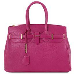 TL Bag Borsa a mano con accessori oro Fucsia TL141529