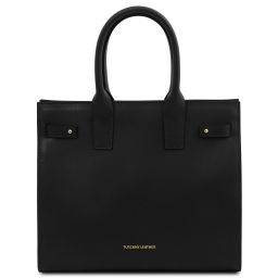 Catherine Leather handbag Черный TL141864