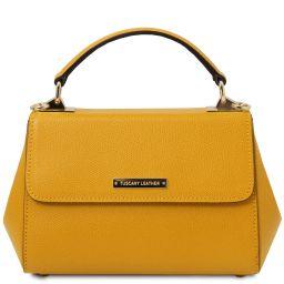TL Bag Leather handbag - Small size Yellow TL142076