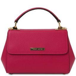 TL Bag Handtasche aus Leder - Klein Fucsia TL142076