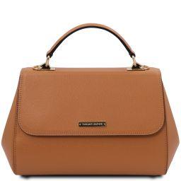 TL Bag Handtasche aus Leder - Gross Cognac TL142077