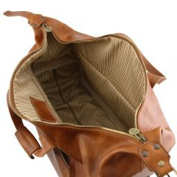 Barbados Trolley leather bag Brown TL141537