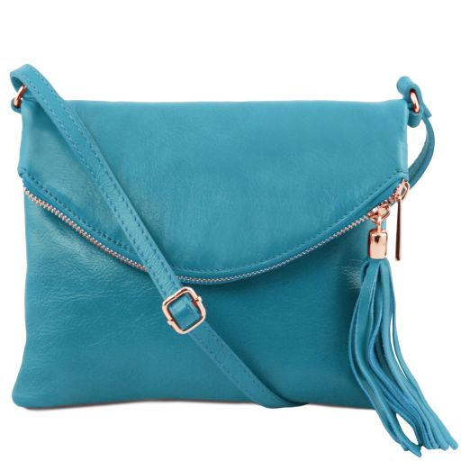 TL Young bag Shoulder bag with tassel detail Turquoise TL141153