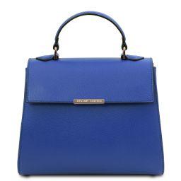 TL Bag Bauletto piccolo in pelle Blu TL142051