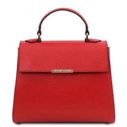 TL Bag Small leather duffel bag Lipstick Red TL142051