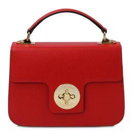 TL Bag Leather handbag Lipstick Red TL142078
