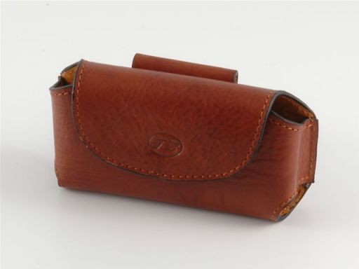 Leather cellphone holder Brown TL140324