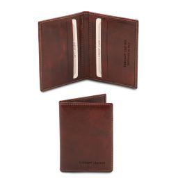 Elégant porte cartes en cuir Marron TL142063