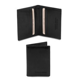Elégant porte cartes en cuir Noir TL142063