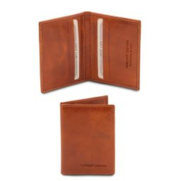 Exclusive leather card holder Мед TL142063