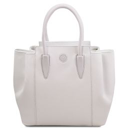 Tulipan Leather handbag Белый TL141727