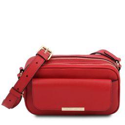 TL Bag Sac caméra en cuir Rouge Lipstick TL142084