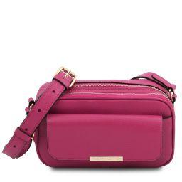 TL Bag Leather camera bag Fuchsia TL142084