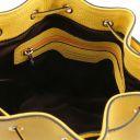 TL Bag Beuteltasche aus Leder Gelb TL142083