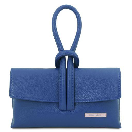 TL Bag Pochette in pelle Blu TL141990