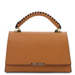 TL Bag Borsa a mano in pelle Cognac TL142111