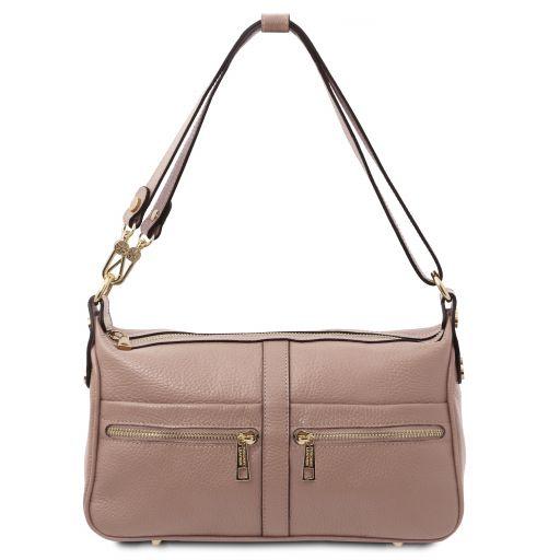 TL Bag Sac bandoulière en cuir Nude TL142133