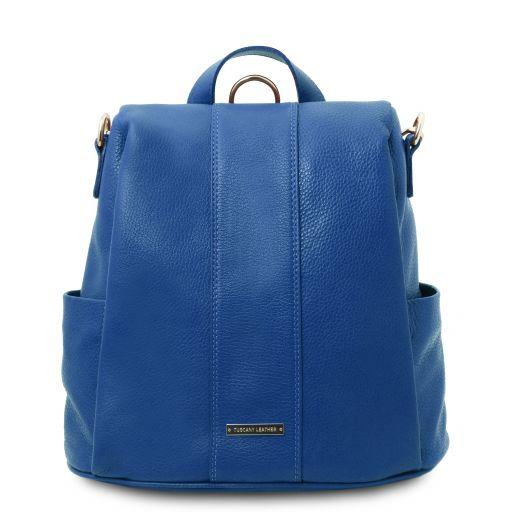 TL Bag Soft leather backpack Blue TL142138