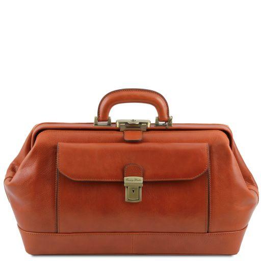 Bernini Exclusive leather doctor bag Honey TL142089