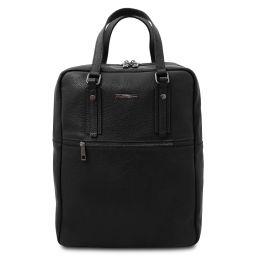 TL Bag Mochila en piel suave con 2 compartimientos Negro TL142136