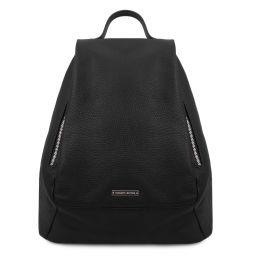 TL Bag Soft leather backpack for women Black TL142096