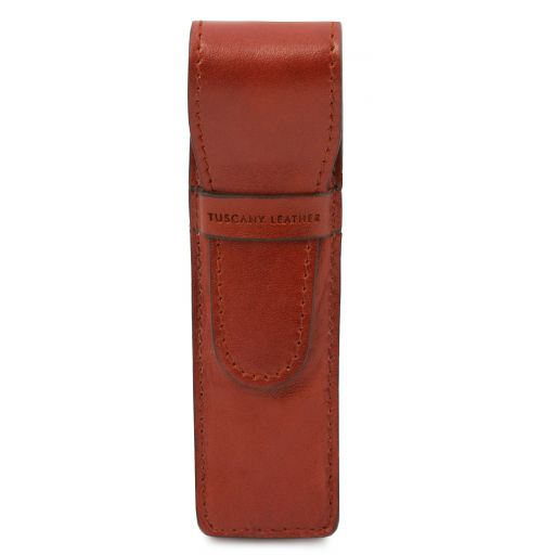 Exclusive leather pen holder Honey TL142131