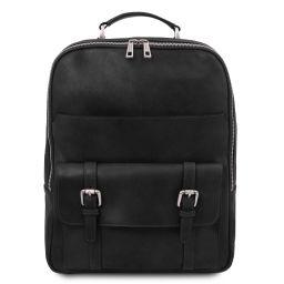 Nagoya Leather laptop backpack Black TL142137