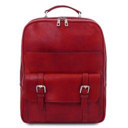 Nagoya Leather laptop backpack Red TL142137