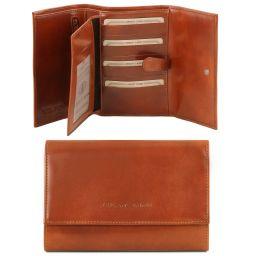 Эксклюзивный кожаный бумажник для женщин Мед TL140796