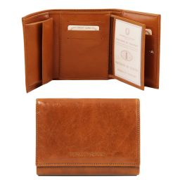Эксклюзивный кожаный бумажник для женщин Мед TL140790