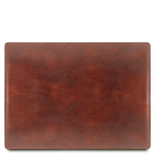 Sottomano da scrivania in pelle Marrone TL141892