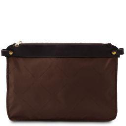 TL Smart Module Modulo tasca per borsa donna in pelle morbida Marrone TL141569