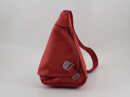 Hong Kong Zaino in pelle Rosso TL140443