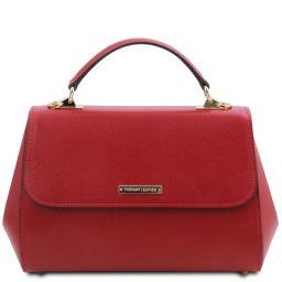 TL Bag Handtasche aus Leder - Gross Rot TL142077