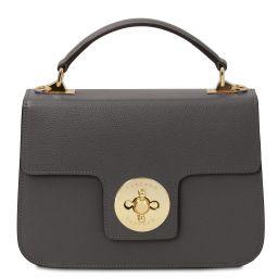 TL Bag Leather handbag Grey TL142078