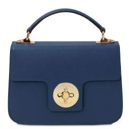 TL Bag Leather handbag Dark Blue TL142078