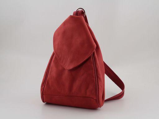 Manila Zaino in pelle Rosso TL140444