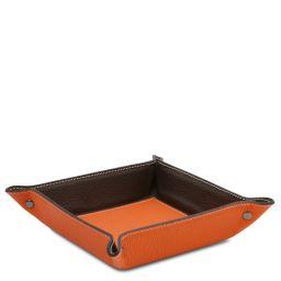 Vuotatasche in pelle Arancio TL142159