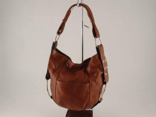 Lara Damentasche aus Leder Braun TL100480